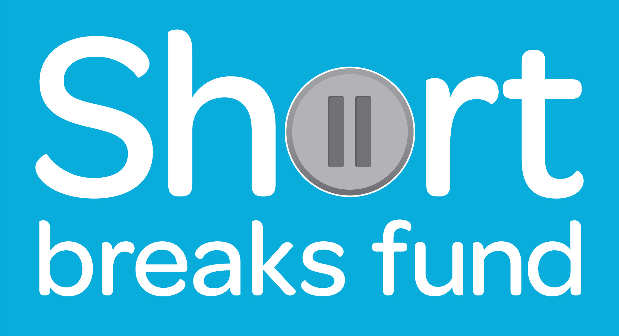 Blue filled Short Break fund logo