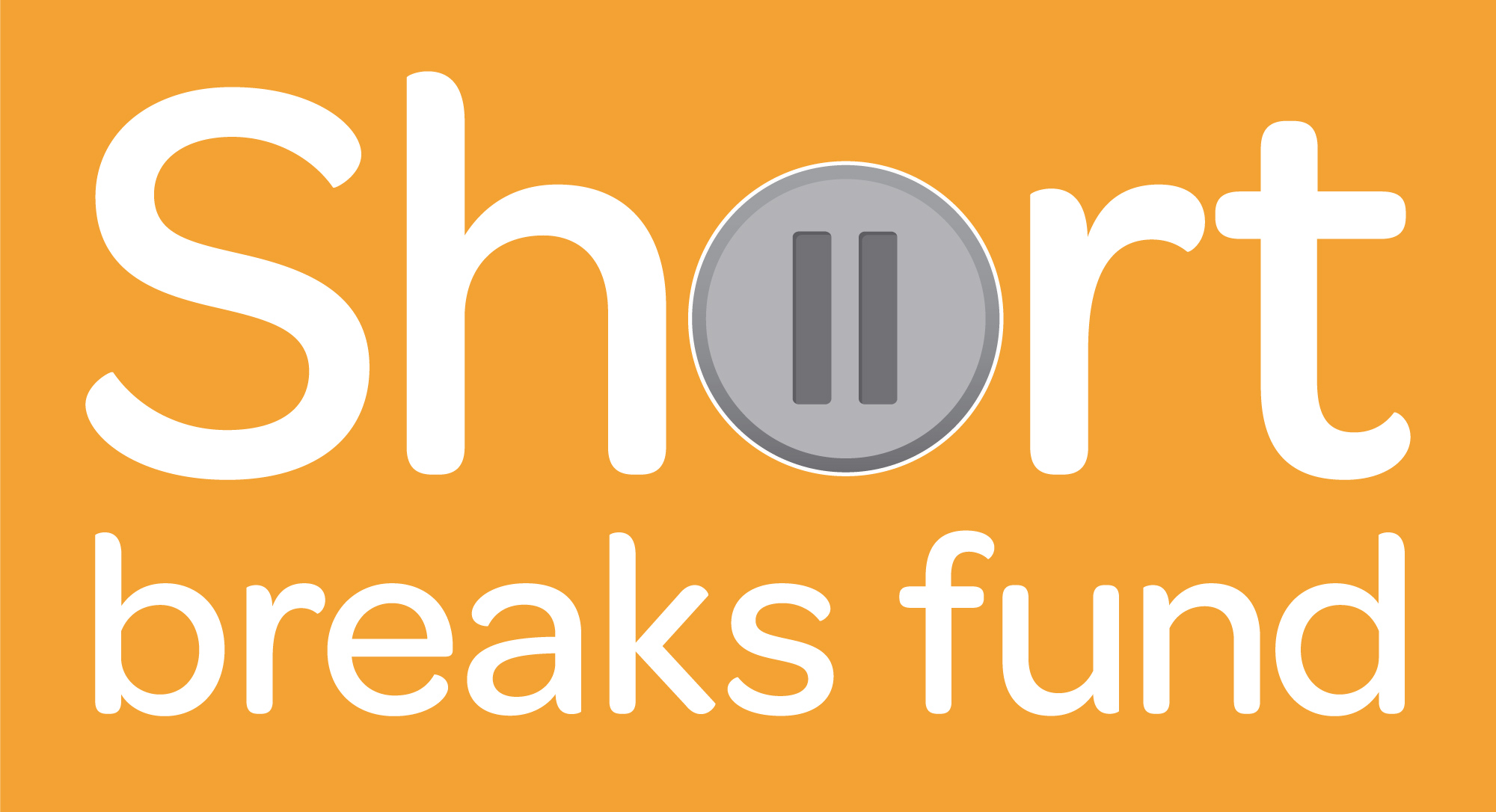 Orange filled Short Break Fund logo