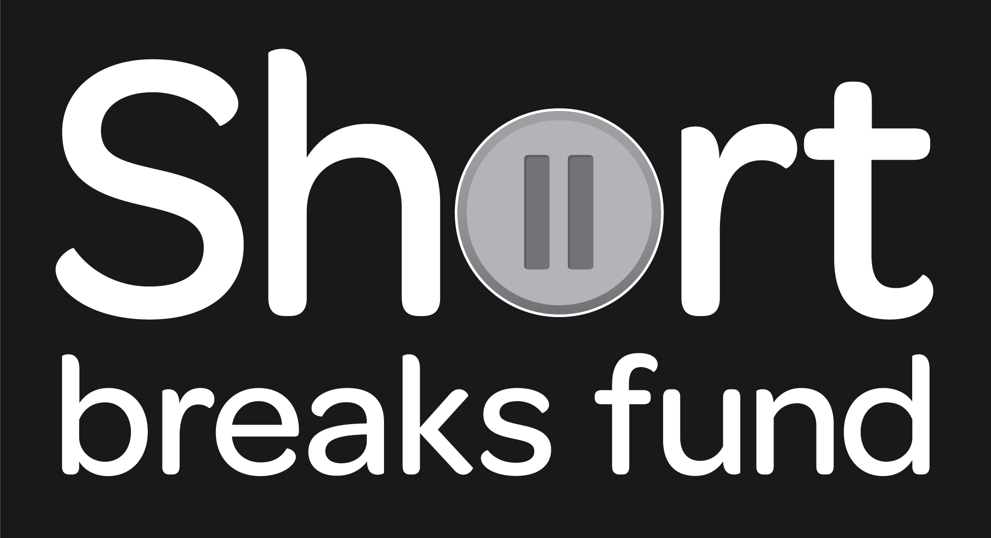 Black filled SHort Breaks Fund logo