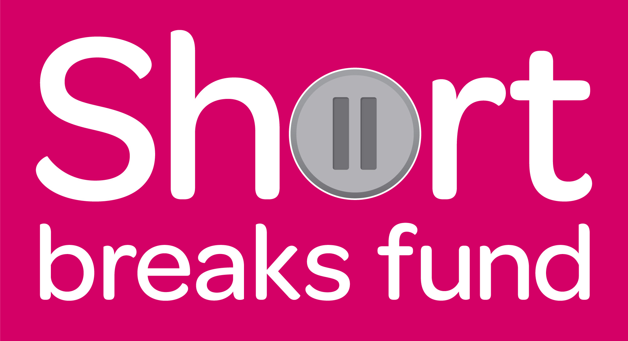 Pink filled SHort Break Fund logo