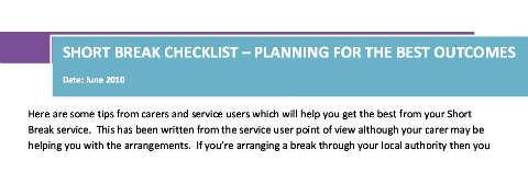 Planning for the best outcomes