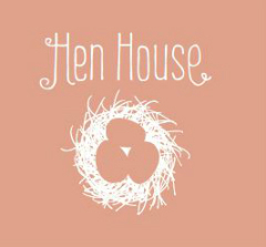 Link to a collection of short stories told in the carers own words. The image is a line drawing of a hens nest with three eggs in it on a pink background.