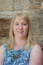 THe image shows a portrait photograph of Kerry Donaghy, Respitality Developer at Shared Care Scotland