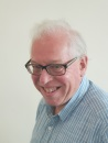 The image shows a portrait photograph of Shared Care Scotland board member Philip Bryers